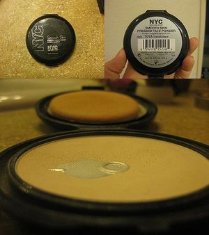 Translucent powder: I pat this under my eyes to cover the bags and dark circles under my eyes. I pat it on and then blend my powder foundation over it.