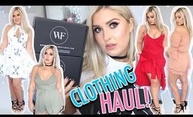 Clothing Haul & Try On! ♡ Summer Dresses & Playsuits, Chokers & More!