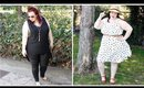Black & White Plus Size LookBook with Gwynnie Bee!