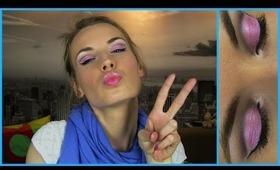 Best Makeup Tutorial Ever! Barbie Doll Pink Look! Romantic, Fun, Happy, Colorful Spring Makeup