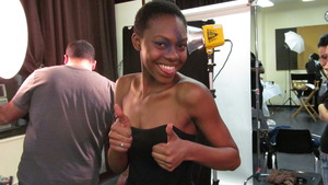 Makeup artist : Denise H. Model: Mariah Last Looks