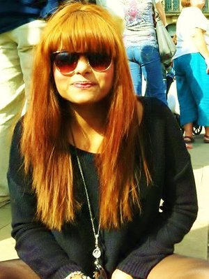 Tramlines 11 in the summer. Easy peasy orange hair yaayyy!