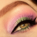 Green/Purple Gradient Look