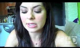Gloss + Dirt Blog: Mila Kunis Smokey Eye Tutorial ft. MUF Aqua Shadows!