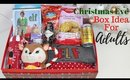 Adult Christmas Eve Box Idea UK - Simple and Affordable