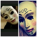 on the right the mask that have i done