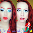Halloween makeup - Ariel, little mermaid