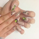 stiletto natural nails