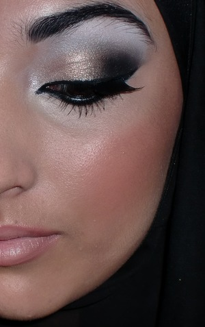 Arabic bridal look