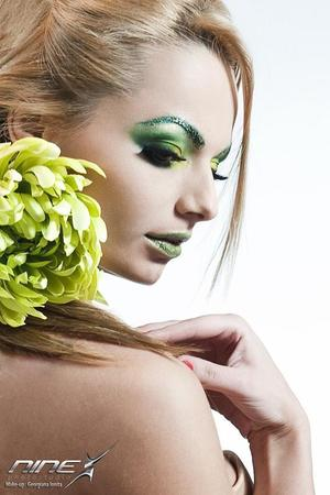 Model:Oana Ionita Makeup Georgiana Ionita(http://georgianaionita.com) photo by Marius Dobrescu