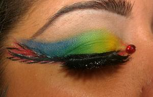Scarlet Macaw Inspired