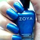 Bright Shimmery Blue