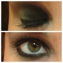 Green Smoked eyes