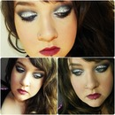 Smokey, Bombshell look complete with Rhinestones !