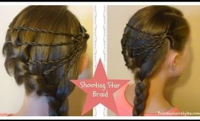 Shooting Star Braid - Hairstyle Tutorial