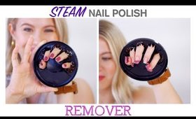 STEAM Nail Polish REMOVER 😲 | Milabu