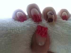 Rose Nail by Behnoush