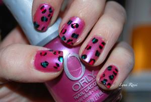 Colorful Leopard.