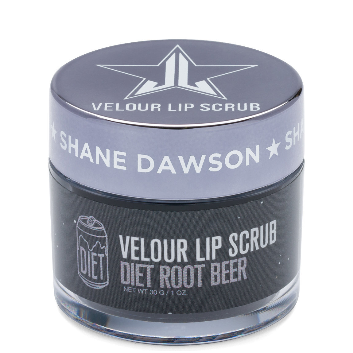 Jeffree Star Cosmetics Velour Lip Scrub Diet Rootbeer alternative view 1.
