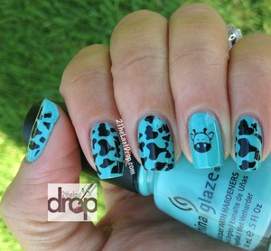 China Glaze Audrey Bundlemonster nail stamps
