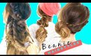 3 Cute BACK-to-SCHOOL HAIRSTYLES  ★ Easy FALL BEANIE Braids for Long Medium Hair