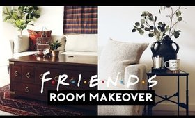 FRIENDS INSPIRED ROOM MAKEOVER 25th ANNIVERSARY!