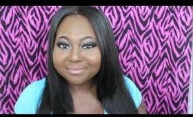 """Karlie Redd """"Love & Hip Hop"""" Makeup Tutorial + Hairstyle"""