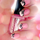 Cute Bow Nail Art