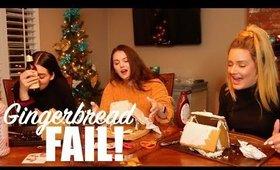 Drunk Gingerbread House Making - BIG FAIL!