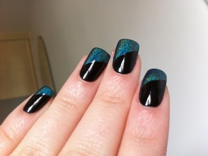Teal holographic. Love!