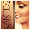 Eye look with UD Naked 2