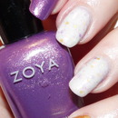 Skittlette with Zoya, Maya Cosmetics and OPI