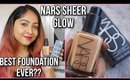 NARS SHEER GLOW FOUNDATION REVIEW | MOST LOVED FOUNDATION by Beauty Gurus?? | Stacey Castanha