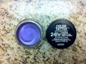 Maybelline's Color Tattoo - Painted Purple