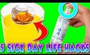 5 Sick Day Life Hacks My Mom Taught Me!