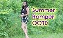 Floral Romper/Playsuit Outfit for Summer (Short Jumpsuit)