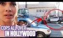 SOMETHING BAD HAPPENED IN HOLLYWOOD! - Trip to LA + Beautycon | HelloThalita