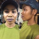 Bold Brows and Lavender Lips by Bran G!