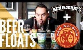 BEER FLOATS: Ben & Jerry's Ice Cream + New Belgium Beer Pairings   now&jenn
