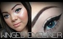 Winged Eyeliner Routine ♥