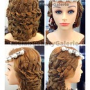 Elegant Bridal Combo Braid Updo