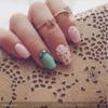 Pretty Girly spring nails