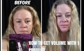 HOW TO GET VOLUME WITH 1 PRODUCT