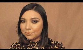 Glam Brown Smokey Eyes | Ana Maggie