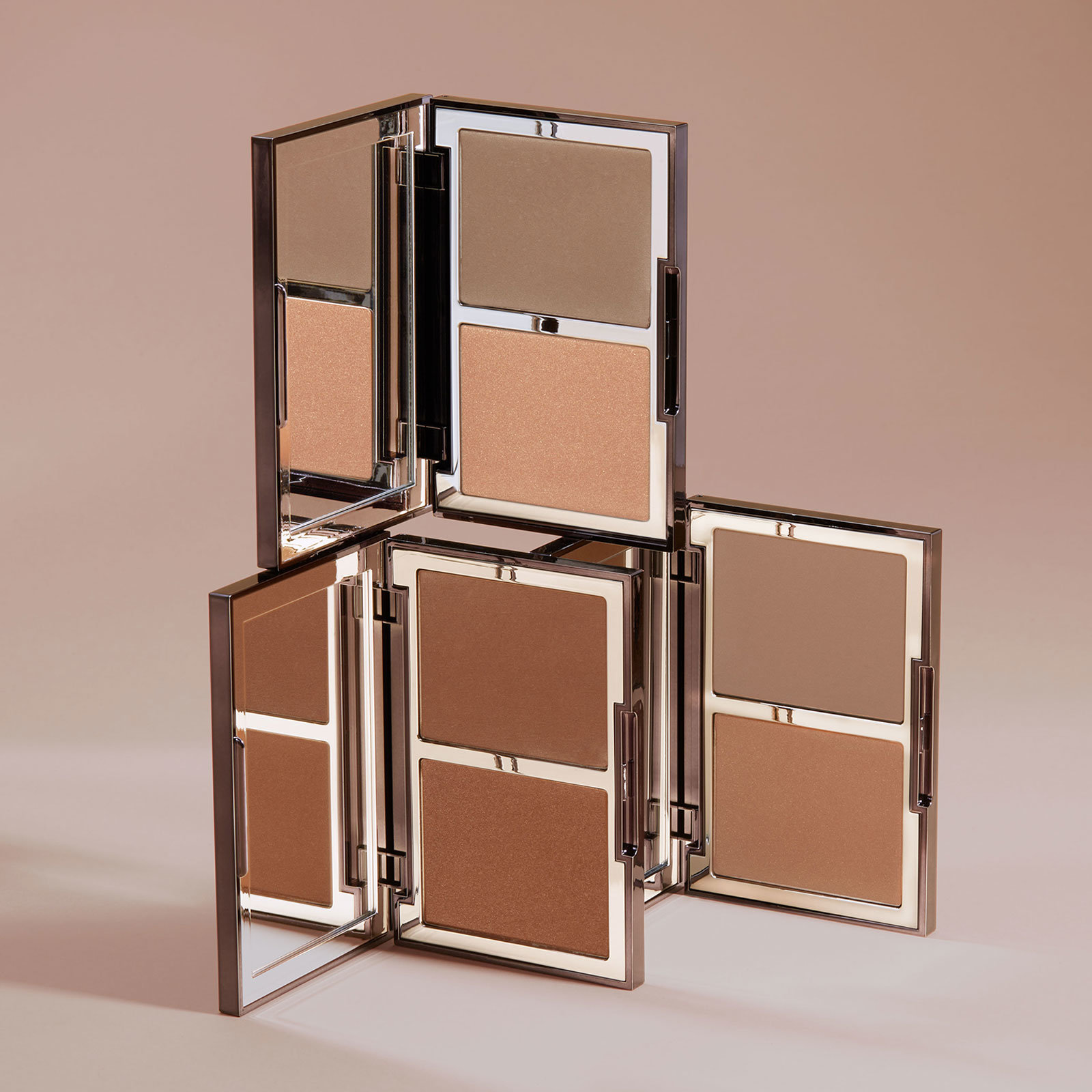 Alternate product image for The Radiance Boosting Face Palette shown with the description.