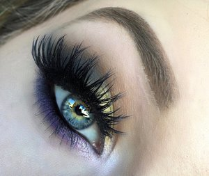 """I couldn't help myself by waiting another hour to post! Unleash your inner peacock for the THIRD time this year, only now a more sensual edge has been added with cooler shadow tones. One of my all time favorite looks so far as it was not only EASY to do but it was so """"me""""! Be sure to check out my blog post for clickable links to products AND a step by step photo for the eye makeup, it'll help you loves a ton :).http://theyeballqueen.blogspot.com/2016/04/exotic-vibrant-peacock-inspired-smokey.html"""