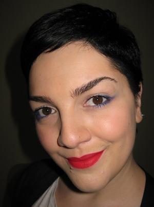 New lipstick on! Miss Pupa n003, Love it!!!
