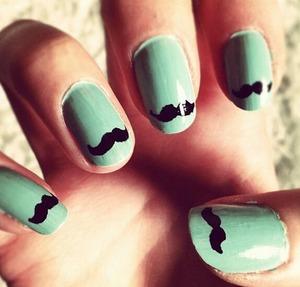 mustache ~~~~?