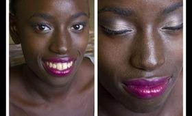 Valentines Day Makeup for Dark Skinned Ladies