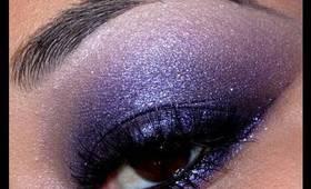 Easy Purple Smokey Eyeshadow Tutorial!